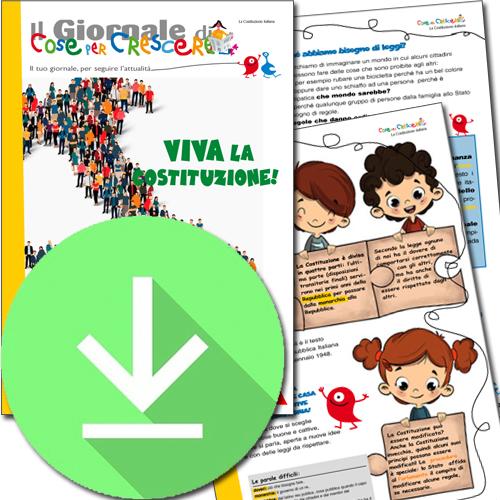 La Costituzione italiana spiegata ai bambini