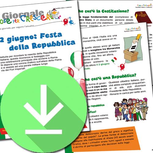 Il 2 giugno e la Festa della Repubblica spiegati ai bambini