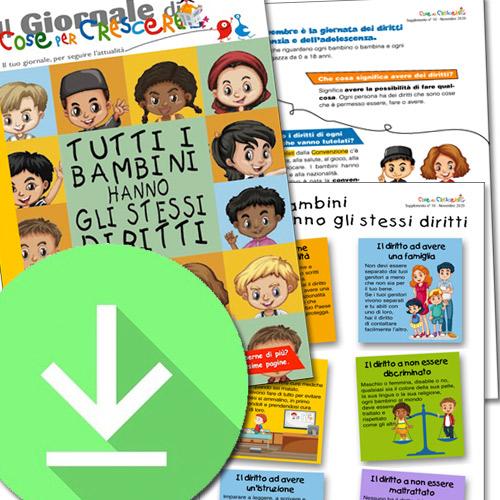 I Diritti dell'Infanzia spiegati ai bambini