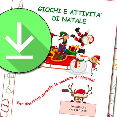 Giochi di Natale da stampare per bambini da 6 a 8 anni