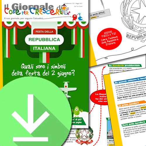 I simboli della Repubblica italiana spiegati ai bambini