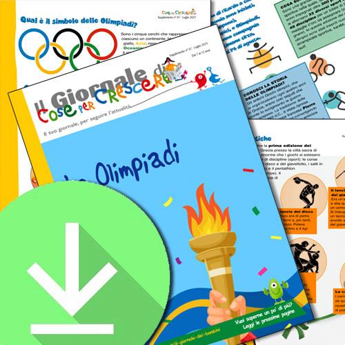 Le Olimpiadi spiegate ai bambini
